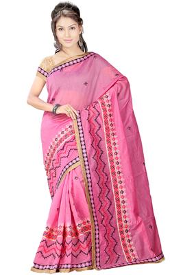 Pink Cotton Blouse 77