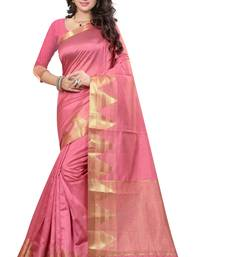 Buy green woven tussar_silk saree With Blouse tussar-silk-saree online