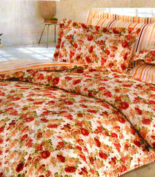 Buy Multicolor polyester floral print single bed  ac quilt quilt online