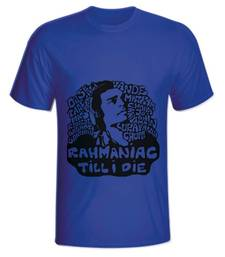 Buy Blue Color Cotton Lycra Rehmaniac Mens T-shirt men-tshirt online