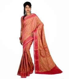 Buy Cotton Tanchooi Banarasi Zari Border Saree cotton-saree online