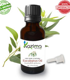 Buy Eucalyptus essential oil (15ml) 100% pure natural and undiluted oil essential-oil online