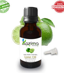 Buy Lime essential oil (15ml) 100% pure natural and undiluted oil essential-oil online