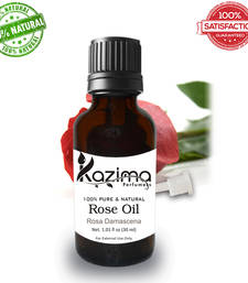 Buy Rose essential oil (30ml) 100% pure natural and undiluted oil essential-oil online