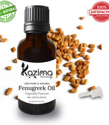 Buy Fenugreek essential oil (30ml) 100% pure natural and undiluted oil essential-oil online