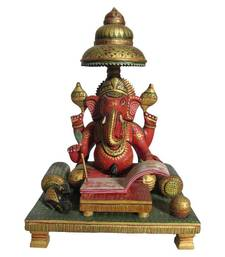 Buy eCraftIndia Lord Ganesha Writing Book  other-home-accessory online