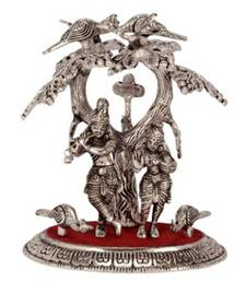 Buy eCraftIndia Radha Krishna Statue under Tree other-home-accessory online