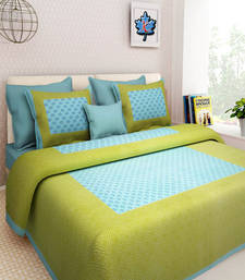 Buy Uniq jaipuri double bedsheet bed-sheet online