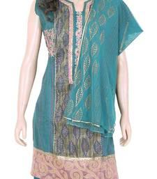 Buy Ethnic Designer Embroidered Cotton Salwar Kameez Dress Size L 900787 salwars-and-churidar online
