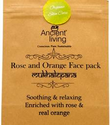 Buy Ancient living rose & orange face pack-40g (set of2) personal-cis online