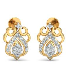 Buy 0.29ct diamond studs 18kt gold earrings gemstone-earring online