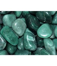 Buy Green aventurine tumbled stone set of 5 chakra healing crystal gemstone jewellery other-gemstone online