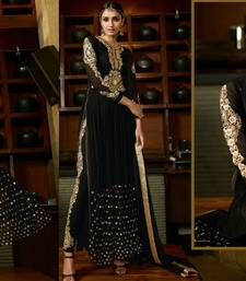 Buy Party-wear Indo-western Style Gown party-wear-gown online
