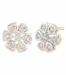 Buy White american diamonds studs stud online