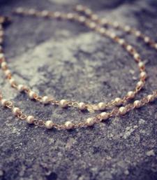 Buy Delicate and Elegant Pearl String Anklets anklet online