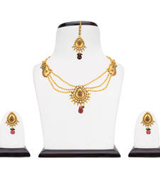 Buy Pearl set jewellery pearl necklaces set bridal jewellery sets necklace-set online