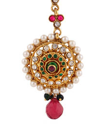 Buy Pearl bridal maang tikka for wedding mang tika girls jewellery maang-tikka online