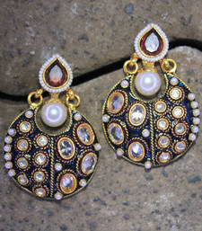 Buy antiqueearringno199 danglers-drop online