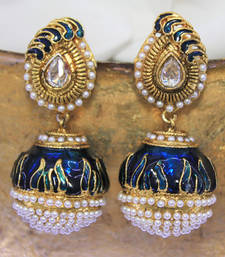Buy antiqueearringno208 danglers-drop online