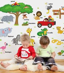 Buy Kids-Cartoons' Wall Sticker (60 cm X 90 cm) wall-decal online