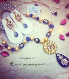 Buy Bleu Flora Set  necklace-set online