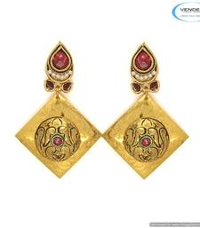 Buy Vende Wedding fashion earring 6815 danglers-drop online