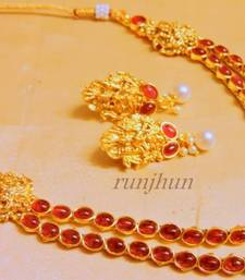 Buy ruby laxmi neckpiece men-shoe online