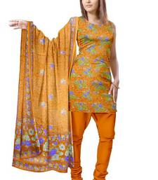 Buy Traditional Self Floral Design Synthetic Dress Material PSS140 salwars-and-churidar online