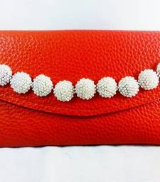 Buy Orange Pearl Embraced Wallet wallet online