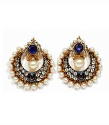 Sonakshi Bollywood Replica Earrings in Blue shop online
