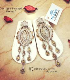 Buy Antique Peacock Earing  danglers-drop online