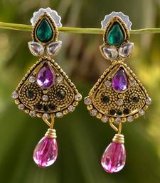 Buy Traditional Pretty Earrings danglers-drop online
