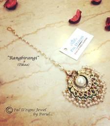 Buy Rangbirangi Tikaa maang-tikka online