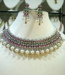 Buy Royal Designer Ethnic Collection  necklace-set online