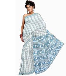 Buy Ethnic Designer Kota Doria Pure Cotton Saree 192 cotton-saree online