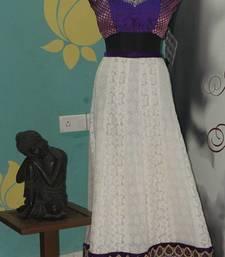 Buy white georgette lehenga lehenga-choli online