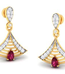 Buy 0.46ct Yellow Diamond gemstone-earrings gifts-for-wife online