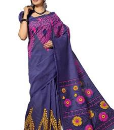 Buy Triveni Beautiful Printed Casual Wear Comfortable Cotton Saree 337 cotton-saree online