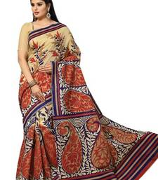Buy Triveni Pretty Printed Casual Wear Comfortable Cotton Saree 370 cotton-saree online