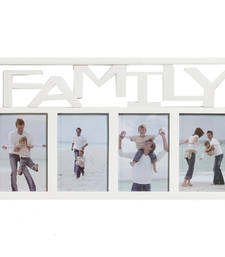Buy Creative White Collage Photo Frame for Family photo-frame online
