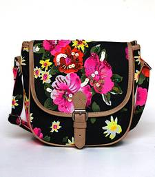 Buy Neon Floral Cross Body Bag sling-bag online