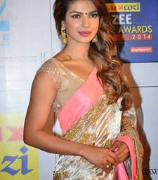 Buy priyanka Chopra Indian traditional bollywood saree, designer saree, party wear saree, facny saree. priyanka-chopra-saree online