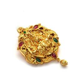 Buy Anvi's lakshmi pendent with gold ball hanging Pendant online