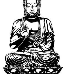 Buy Blessing Buddha wall-decal online, Buy wall-decals online