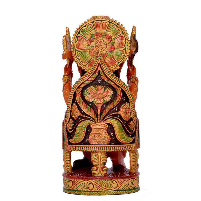 Buy Brown Color Good Luck Ganesh Statue For Home Decor Gifts Online