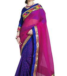 Buy Indian rich look Designer Super Cool Cotton Sarees By Sareez house cotton-saree online
