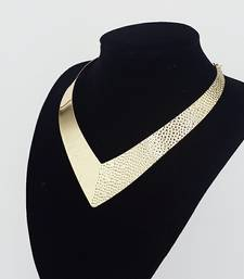 Buy gold plated necklaces collar-necklace online