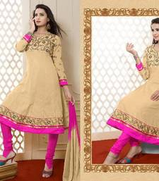 Buy Latest Designer Party ware Salwar Suit By Sareez House Diwali discount offers semi-stitched-salwar-suit online