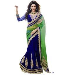 Buy Designer Lehenga saree velvet-saree online