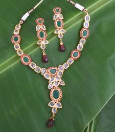 Buy polkisetno939 necklace-set online